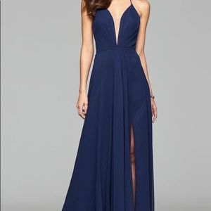 Faviana Chiffon Dress